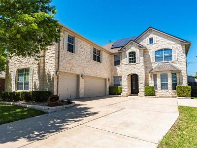 Pflugerville Single Family Home For Sale: 1232 Canyon Maple Rd