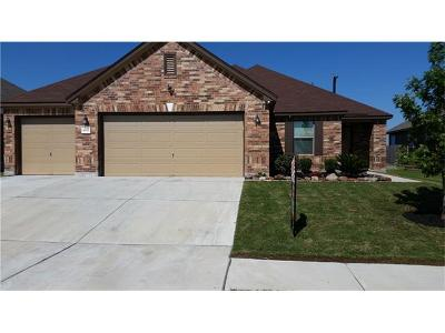 Hutto Single Family Home For Sale: 400 Carrington St