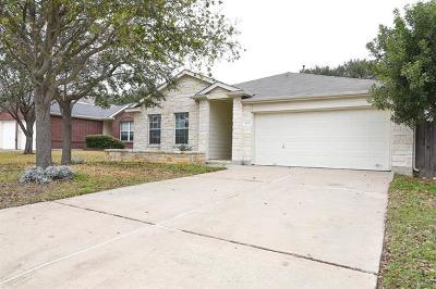 Cedar Park Single Family Home For Sale: 1413 Hawk Dr