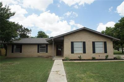 Georgetown Single Family Home For Sale: 905 Parker Cir