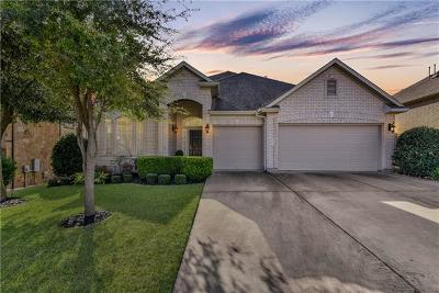 Round Rock Single Family Home For Sale: 4603 Monterosa Ln