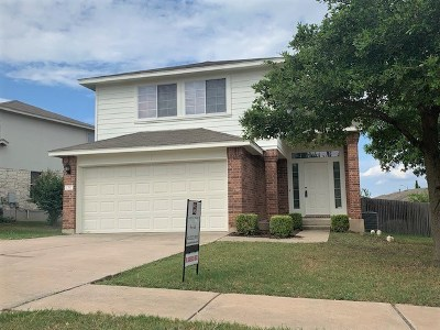Pflugerville Single Family Home Pending - Taking Backups: 1312 Coronation Way