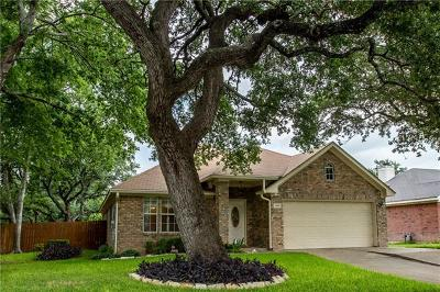 Round Rock Single Family Home For Sale: 2418 Willow Way