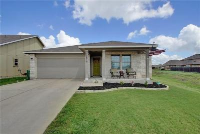 Manor Single Family Home Pending - Taking Backups: 12816 Carillon Way