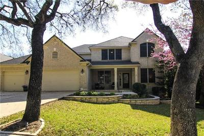 Austin Single Family Home For Sale: 11321 Rockwell Ct
