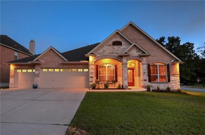 Cedar Park Single Family Home Pending - Taking Backups: 1207 Valorie Ct