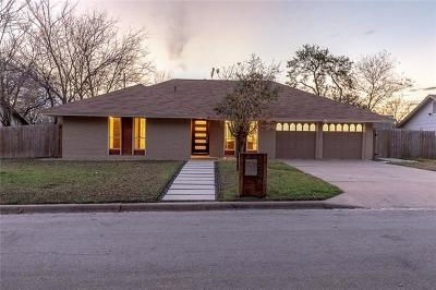 Austin Single Family Home For Sale: 5506 Cordell Ln