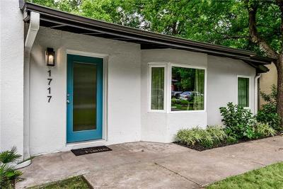 Austin Single Family Home For Sale: 1717 E 38th St