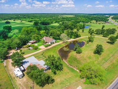 Bastrop County Farm For Sale: 5883 Fm 535