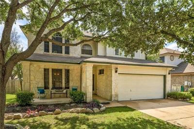 Cedar Park Single Family Home For Sale: 600 Stallion Dr