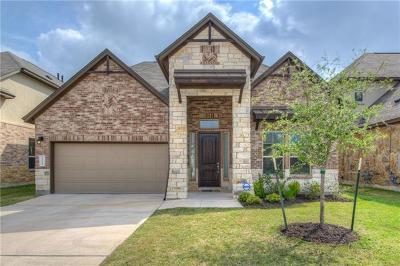 Cedar Park Single Family Home Pending - Taking Backups: 1400 Little Elm Trl #1116