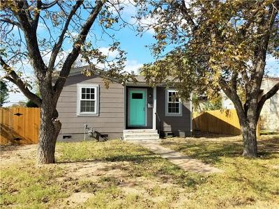 Austin Single Family Home Pending - Taking Backups: 5502 Avenue F #A