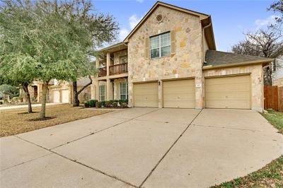 Cedar Park TX Single Family Home For Sale: $499,900