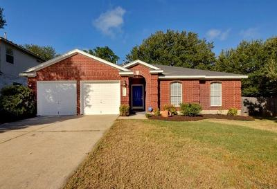 Cedar Park Single Family Home Pending - Taking Backups: 2713 Glenwood Trl