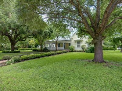 Bastrop TX Single Family Home For Sale: $685,000