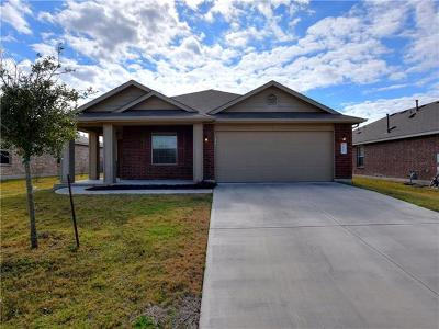 Pflugerville Single Family Home Pending - Taking Backups: 3617 Eagle Fledge Ter