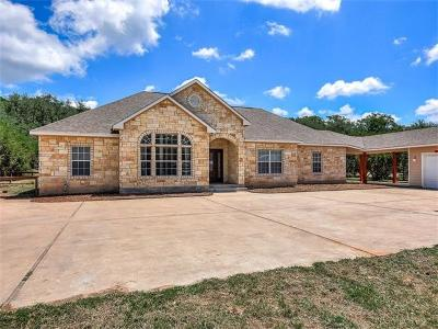 Wimberley Single Family Home For Sale: 102 Mesquite Trl