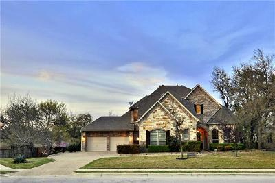 Cedar Park Single Family Home Pending - Taking Backups: 204 Crosswind Ct