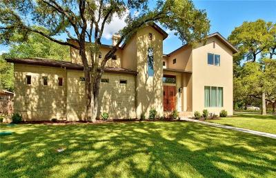 Austin Single Family Home For Sale: 308 Westwood Ter