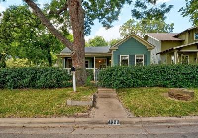 Austin Single Family Home Pending - Taking Backups: 4600 Avenue C