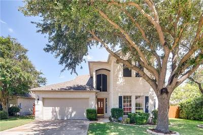 Cedar Park Single Family Home For Sale: 1713 Cattle Dr
