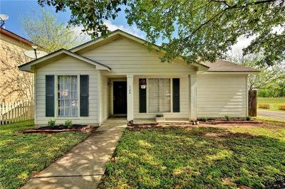 Pflugerville Single Family Home Pending - Taking Backups: 132 Wild Senna Dr