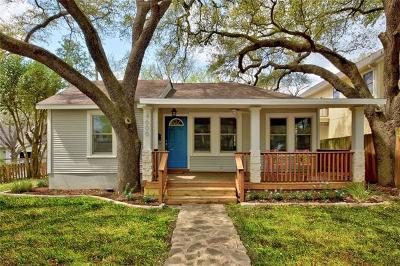 Austin Single Family Home For Sale: 4600 Avenue F