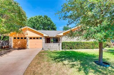 Austin Single Family Home Pending - Taking Backups: 7204 Squirrel Oak Cir