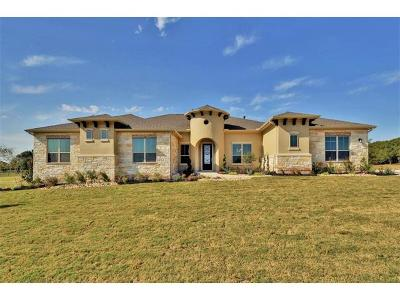 Leander Single Family Home For Sale: 2541 Greatwood Trl
