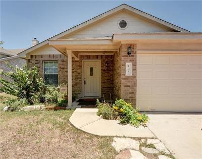 Hutto Rental For Rent: 105 Mossy Rock Cv