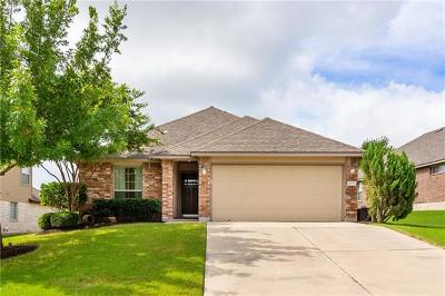 Pflugerville Single Family Home For Sale: 19713 Drifting Meadows Dr