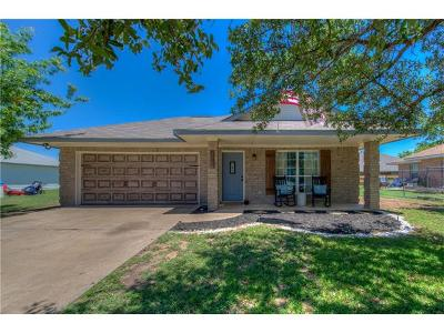 Leander Single Family Home Pending - Taking Backups: 808 Moon Glow Dr