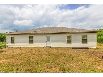 Cedar Creek Single Family Home Pending - Taking Backups: 124 Rocky Hill Dr