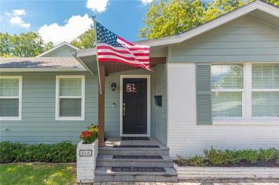Austin Single Family Home For Sale: 4906 W Frances Pl