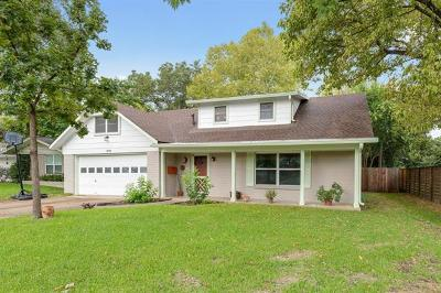 Austin Single Family Home For Sale: 3006 Hunt Trl