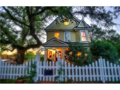 Burnet County Single Family Home Pending - Taking Backups: 508 Main St