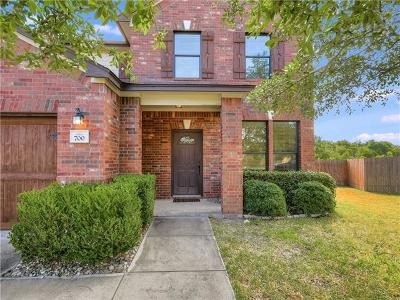 Pflugerville Single Family Home For Sale: 700 Watson Way