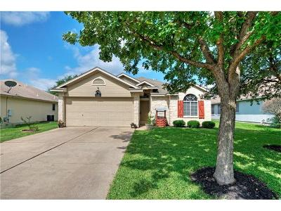 Leander Single Family Home Pending - Taking Backups: 1307 Mason Creek Blvd