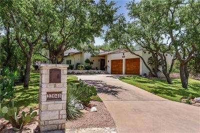 Spicewood Single Family Home Pending - Taking Backups: 22041 Briarcliff Dr