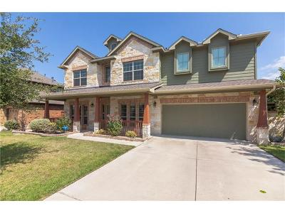 Round Rock Single Family Home For Sale: 404 Wolf Creek Way