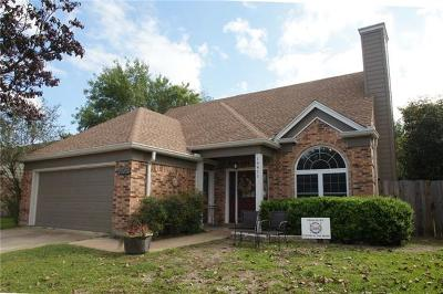 Leander  Single Family Home For Sale: 16411 Spotted Eagle Dr