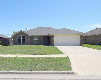 Killeen TX Single Family Home For Sale: $132,900