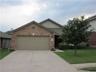 Leander Single Family Home Pending - Taking Backups: 2719 Silver Spur Ln