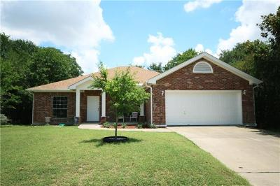 Hays County, Travis County, Williamson County Single Family Home Pending - Taking Backups: 2815 Allison Dr