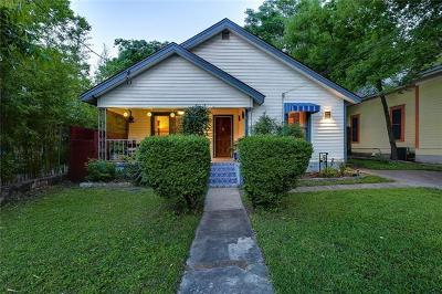 Austin Single Family Home For Sale: 1611 Drake Ave