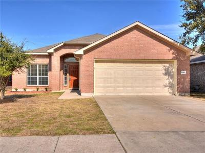 Round Rock Single Family Home For Sale: 1818 Rachel Ln