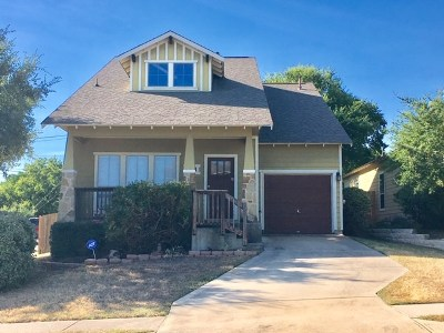 Austin Single Family Home For Sale: 1900 Wayward Sun Dr