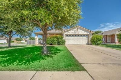 Leander Single Family Home For Sale: 1120 Burgess Dr
