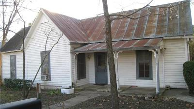 Georgetown Single Family Home For Sale: 608 W 15th St