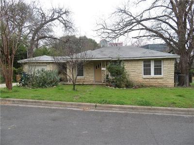 Single Family Home For Sale: 800 Post Oak St